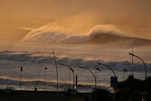 Big waves, Eastern Cape, East London, South Africa