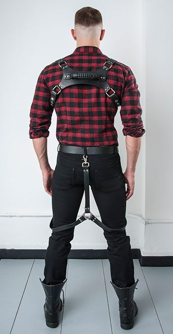 Folsom Leather Looks: Harness and gear by Nasty Pig Gay Men's Fashion