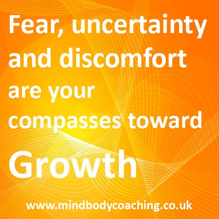Fear is necessary for GROWTH