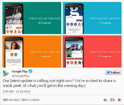 Google Play Terbaru v4.9.13 dengan Tampilan UI Baru dan Fresh  http://momojustshare.blogspot.com/2014/07/google-play-terbaru-v4913-dengan-tampilan-ui-baru-dan-fresh.html