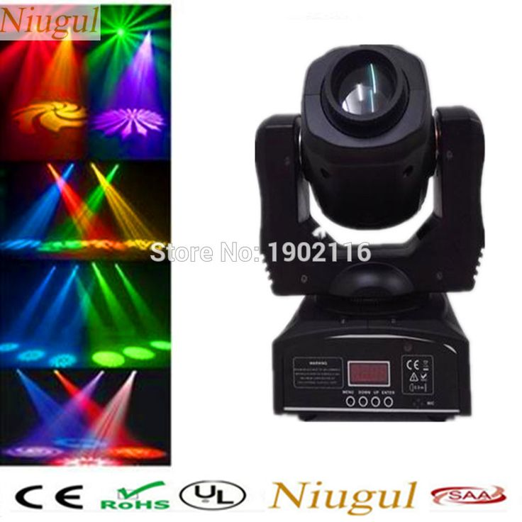 Niugul 60W LED patterns light/Disco Party Wedding DMX512 Stage Effect Fixture/60W LED Spot Moving Head lighting/led gobo light #Affiliate