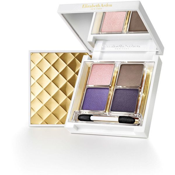Elizabeth Arden Limited Edition Beautiful Color Eye Shadow Quad (275 CNY) ❤ liked on Polyvore featuring beauty products, makeup, eye makeup, eyeshadow, elizabeth arden eyeshadow, palette eyeshadow, elizabeth arden eye shadow and elizabeth arden