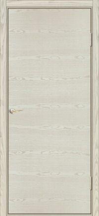 Межкомнатные двери модель Тип 1 серия Флэт цвет Ясень ваниль горизонтальный | Купить в интернет-магазине Завода Деревоизделий