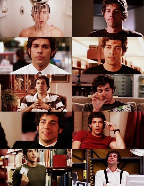 Chuck Bartowski Season 1, Oh how he has grown.