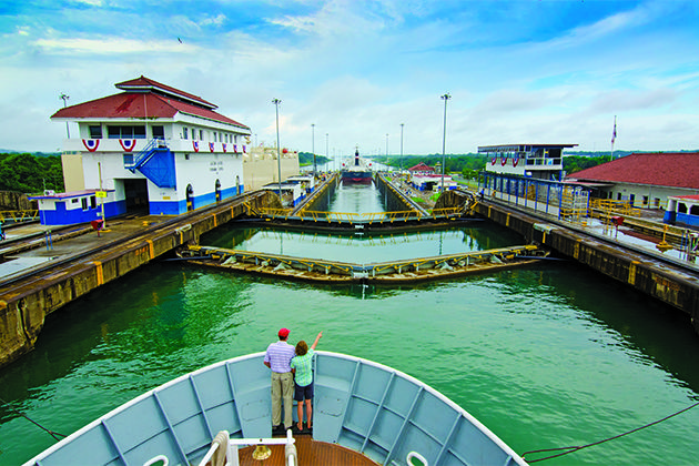 Discover Panama Canal cruise tips here, including the best time to go on a Panama Canal cruise.