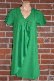 Green wrap tunic/dress $99