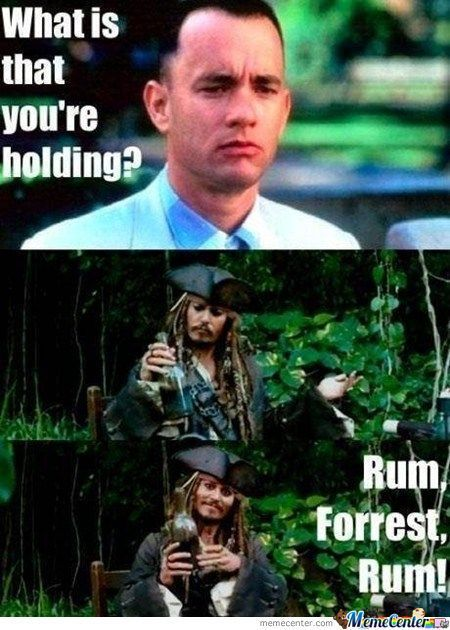 Rum Forrest Rum Image - Funny Running Pictures - Memes