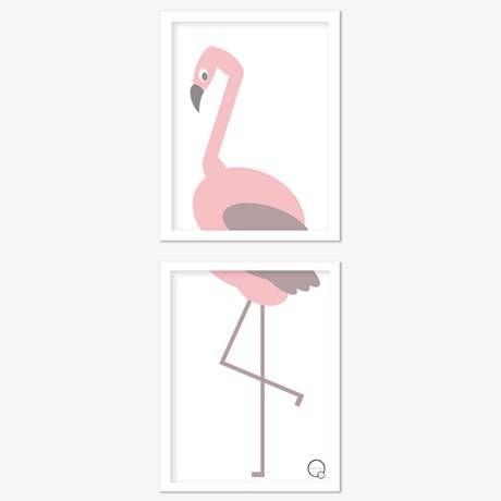 Poster - Djur (2 delar)