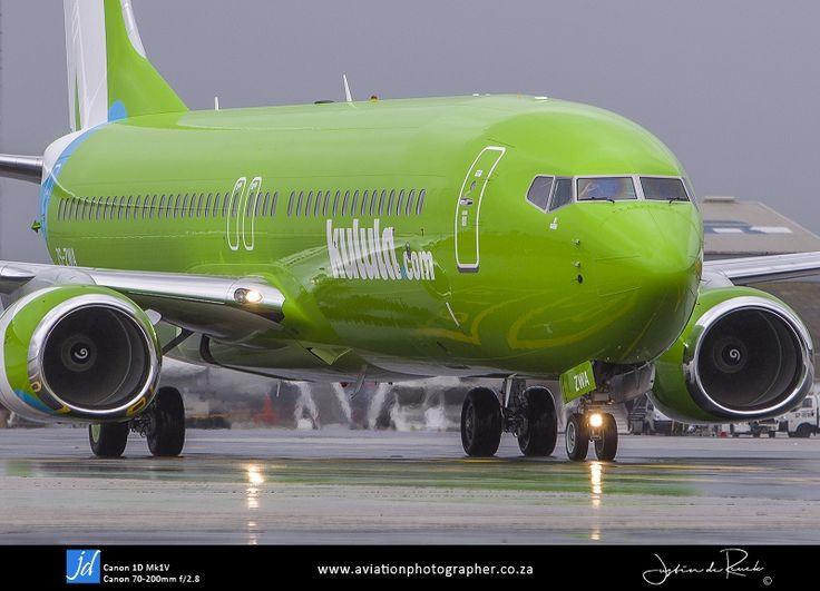 Kulula's brand new Boeing 737-800