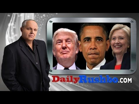 (LIBERAL'S DOUBLE STANDARD) Rush Limbaugh: Obama Actually Did What Trump Is Accused of Doing - Breitbart