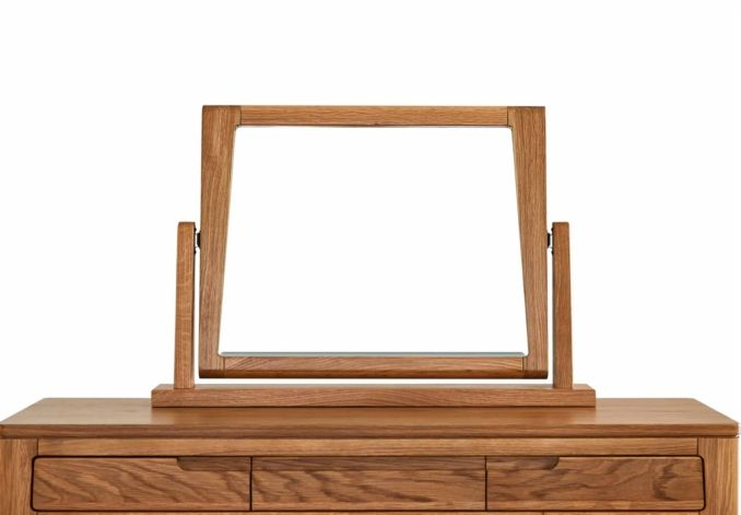 For the dressing table  Pedestal Mirror - Baku Bedroom - Bedroom Furniture | Beds | Furniture Village