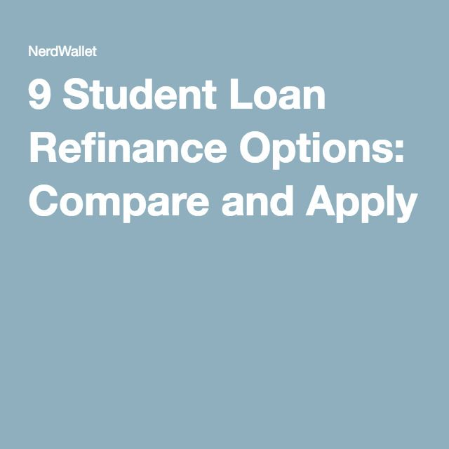 Best student loan options for parents
