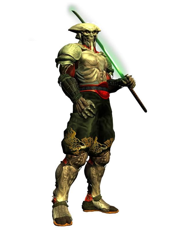 Yoshimitsu from Tekken was my favourite character because he was a badass and used a sword.