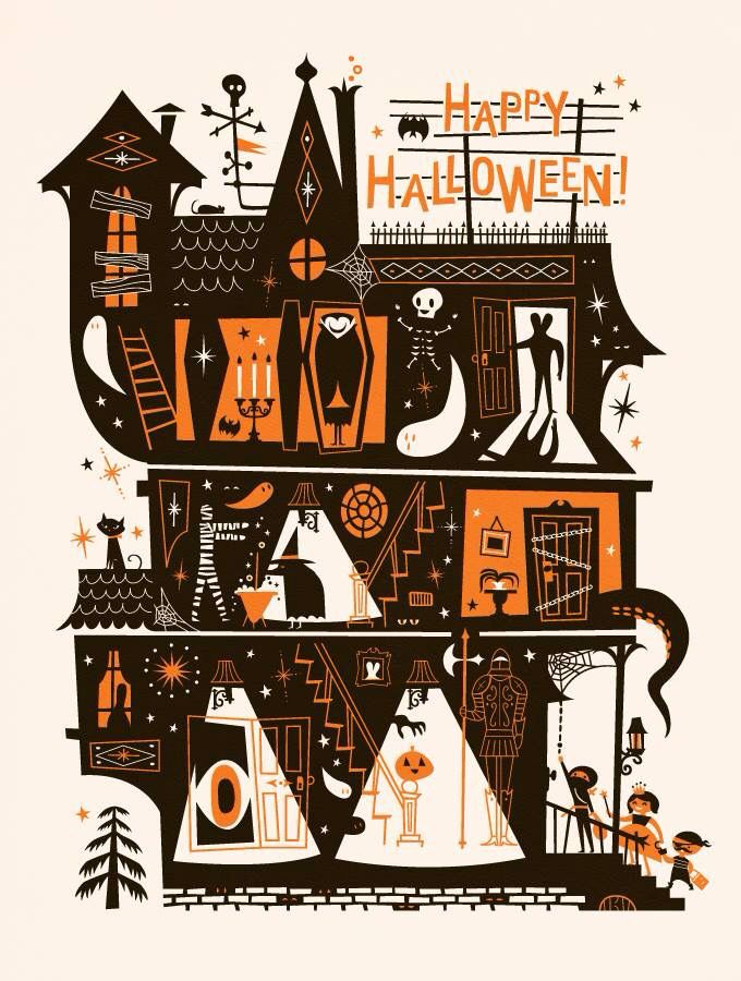 Happy Halloween! Ilustration: Lab Partners
