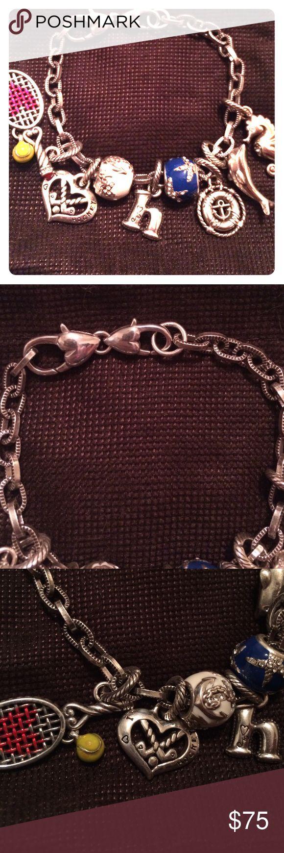 Brighton Charm Bracelet Brighton starter charm bracelet Brighton Jewelry Bracelets