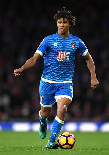 Nathan Ake of AFC Bournemouth in action during the Premier League match between Arsenal and AFC Bournemouth at Emirates Stadium on November 27, 2016 in London, England.