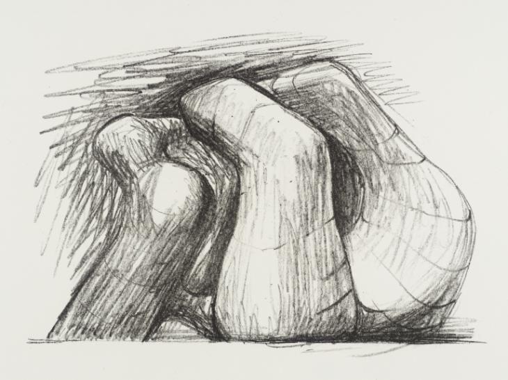 Henry Moore OM, CH 'Two Forms', 1967