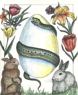 Brilliant depiction of Ostara symbolism