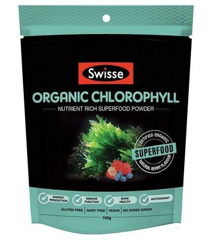 Swisse Organic Chlorophyll Superfood Powder 100G