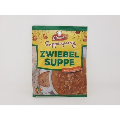 0 30 Cassian Zwiebelsuppe 56 G Zwiebelsuppe Suppe Party Suppe