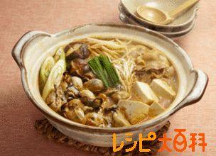 ピリ辛かき鍋