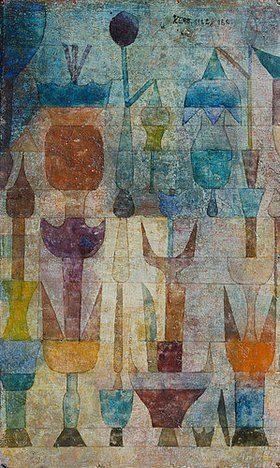 Paul Klee: Pflanzen früh am Morgen. 1922.
