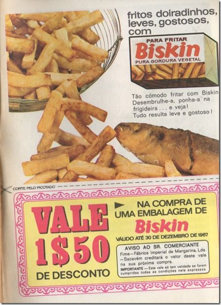 Santa Nostalgia: Biskin–Doiradinhos da FIMA