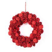 Found it at Wayfair - Cherry Hill Lane Pinecone Wreath