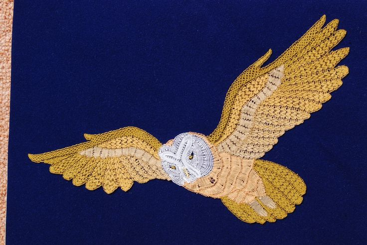 milanese lace owl