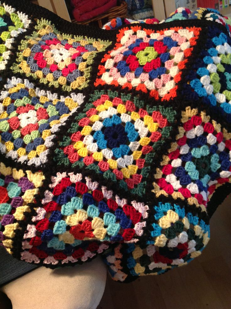 Ispired by Arne & Carlos Granny square blanket