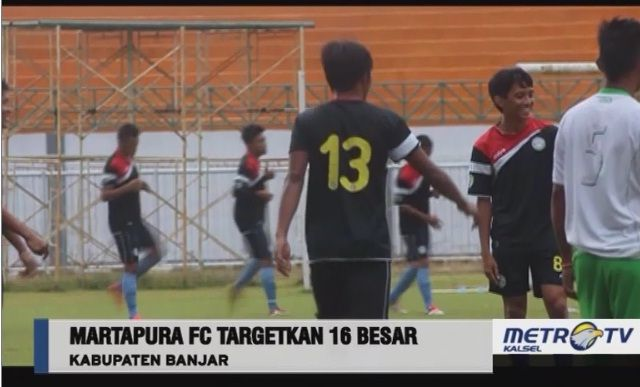 Martapura Football Club: Tayangan Persiapan Martapura FC Di Metro TV