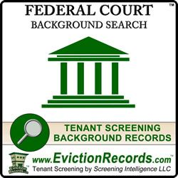 The #FederalCourtRecords search covers almost the entire federal criminal court system throughout the USA. #FederalCourtSearch Some federal courts, such as tax courts and bankruptcy courts, are not included. http://www.evictionrecords.com/federal-court-records/