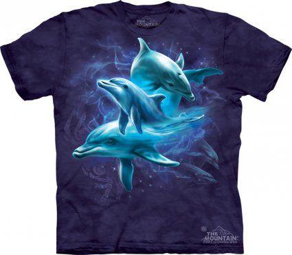 Dolphin Collage The Mountain - Koszulka z delfinami - sklep internetowy www.veoveo.pl