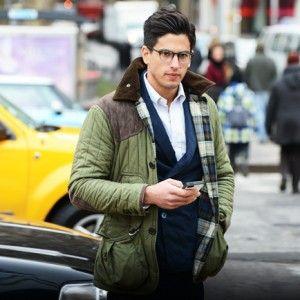 Stijlvolle mannen in een winters New York « Manners.nl