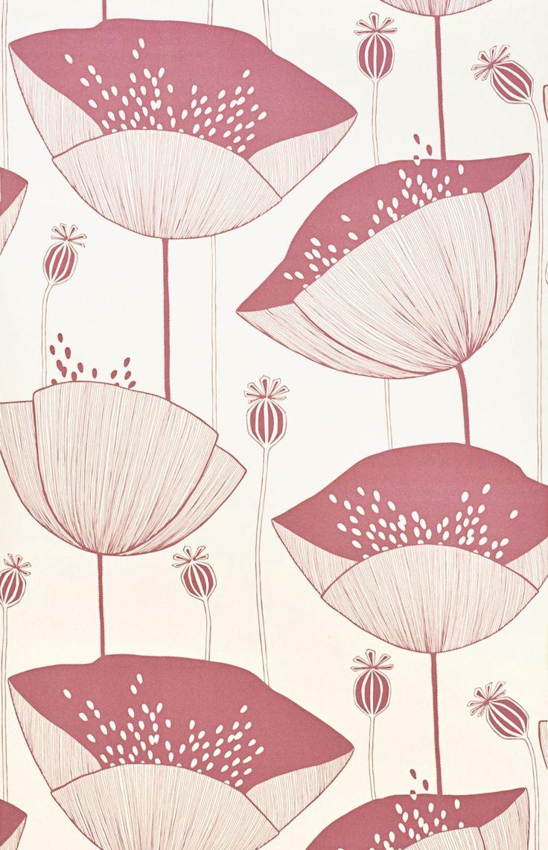PoppyBlush Blush wallpaper, Pink wallpaper, Poppies