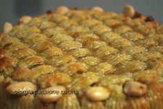 torta delizia con pasta di mandorle