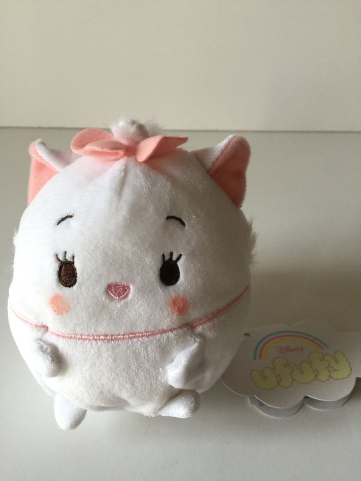 Disney Store Japan Marie Ufufy Scented Small Plush New with Tags