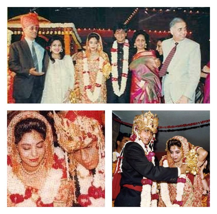 #Gauri and #Shahrukhkhan's marriage pictures.