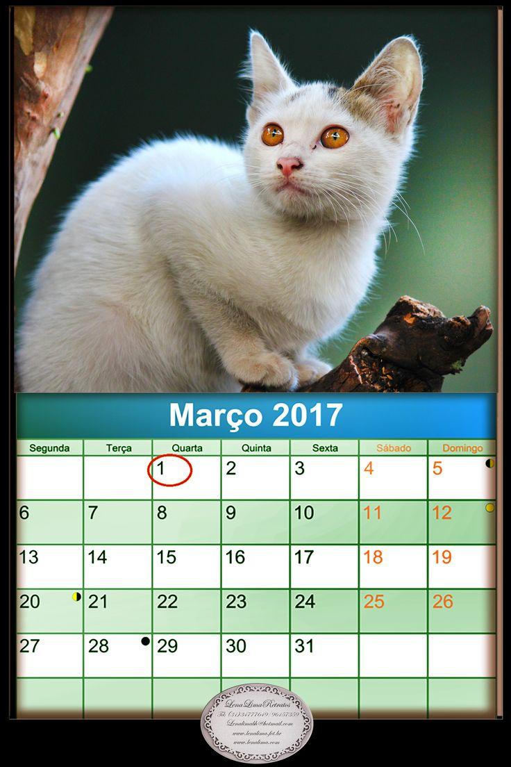 Calendario  Março de 2017