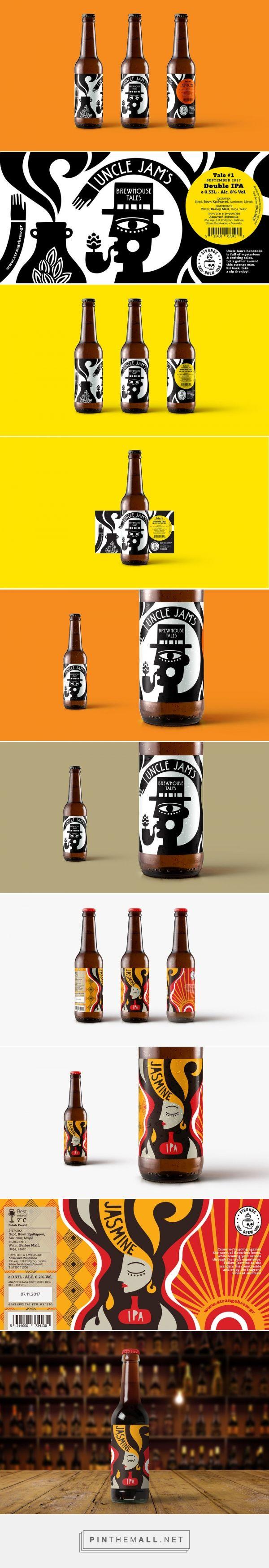 Strange Brew / beer packaging by polkadot design