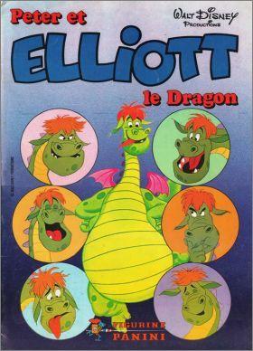 Pete's Dragon French Disney Panini Storybook Sticker Album