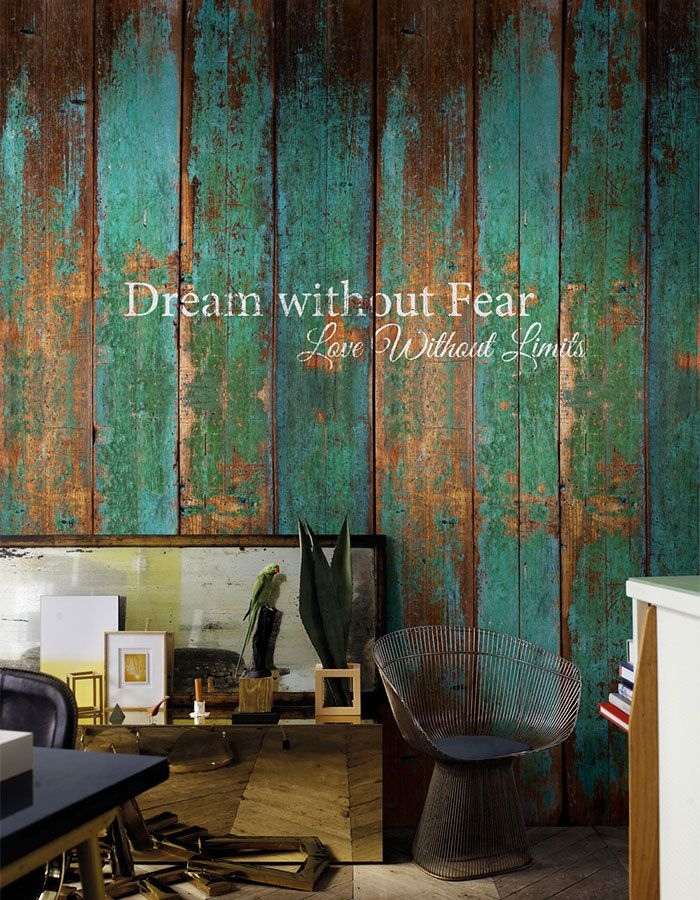 17 best images about green wallpaper walls republic on for Mural go green