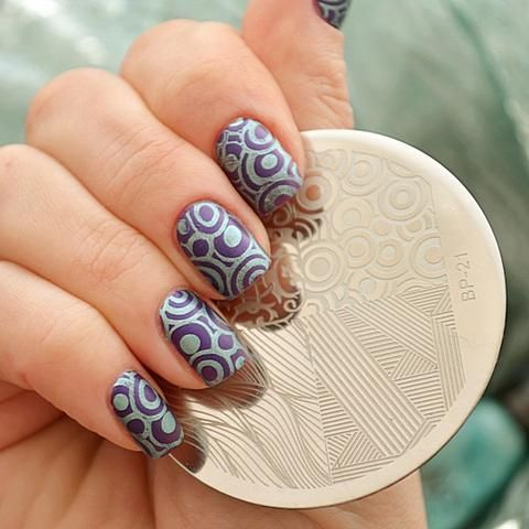 Nails art Plaque Stamping