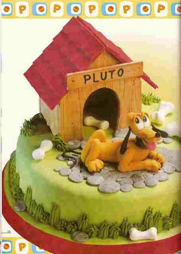 Dog Cake Decorations Nz : 14 best images about Pluto cake on Pinterest Birthday ...
