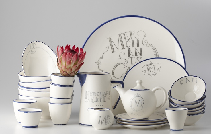 A Collection of Ceramics for Merchants Cafe