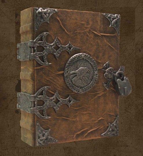 Book of Shadows http://www.brahmsbookworks.com/ravenmoongrimoire.html