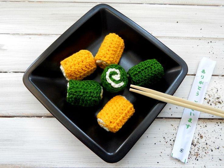 Zabawka dla dziecka - sushi - komplet - mellcja - Maskotki i pluszaki