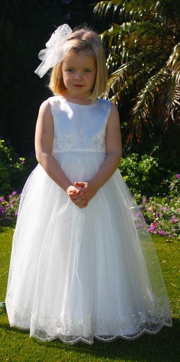 Flower girl dress from Little beky Australia