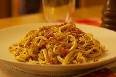 LCHF-recept: LCHF-Pasta Carbonara