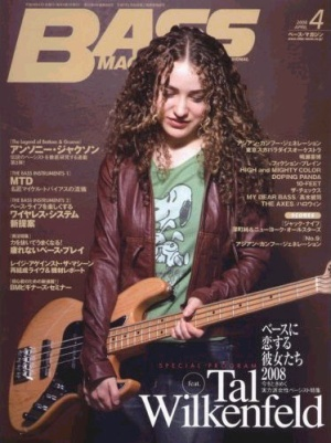 Tal Wilkenfield   Incredible fusion bass player. Currently on tour with the legendary Jeff Beck.